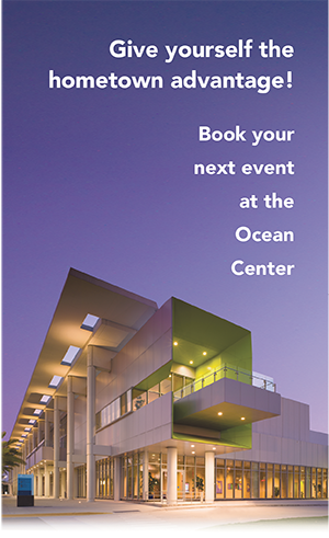 give yourself the hometown advantage! Book your event at the ocean center